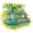 База отдыха Лесные поляны - иконка «сад» в Старой Купавне